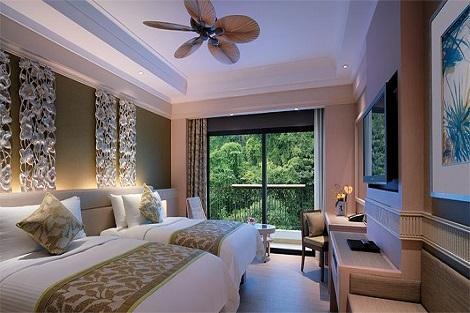セントーサ島:シャングリラ ラサ セントーサ リゾート & スパ 客室一例