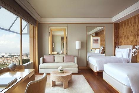 シンガポール:ザ リッツ カールトン、ミレーニア シンガポール 客室一例