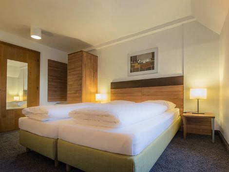 ミュンヘン:ゲルマニア ホテル 客室一例