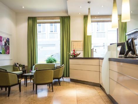 ミュンヘン:ゲルマニア ホテル ロビー
