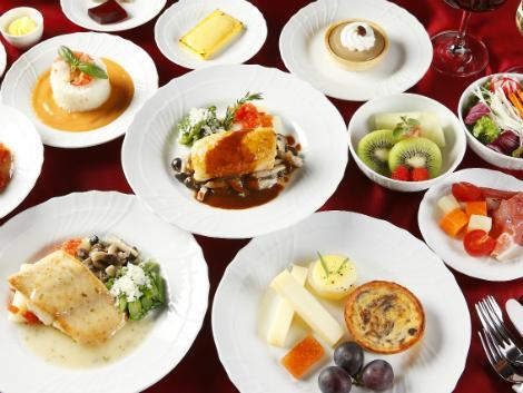 アリタリア航空 ビジネスクラス 機内食イメージ