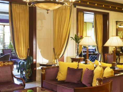パリ:ホテル ナポレオン ロビー