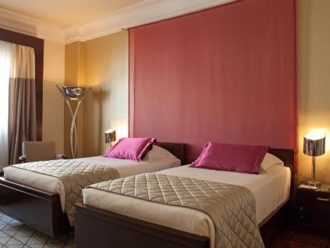 リスボン:ホテル ブリタニア 客室一例