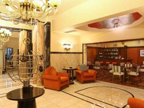 リスボン:ホテル ブリタニア ロビー
