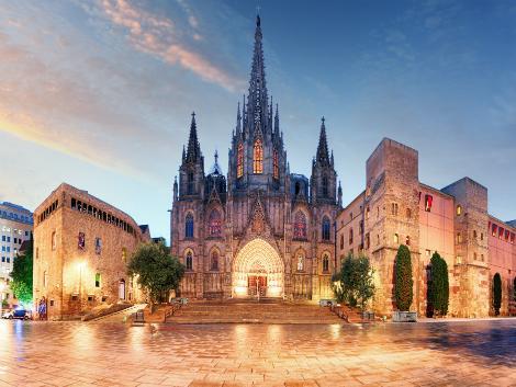 ◇◎バルセロナ:サンタ・エウラリア大聖堂