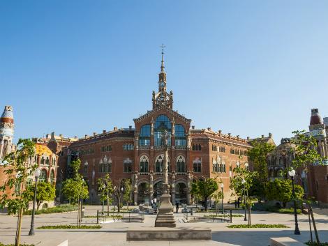 ◇バルセロナ:サンパウ病院