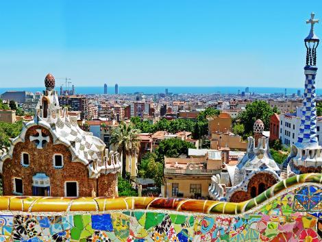 ◇◎バルセロナ:グエル公園