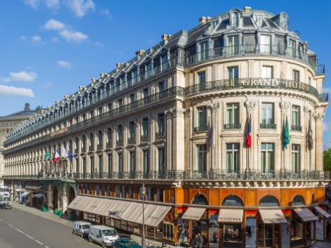 パリ:インターコンチネンタル ル グラン 外観