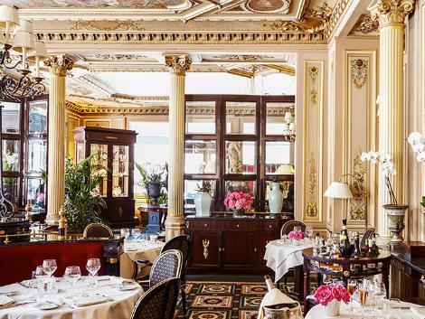 パリ:インターコンチネンタル ル グラン レストラン