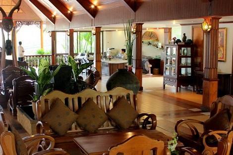 サムイ島:バナナ ファンシー リゾート ロビー
