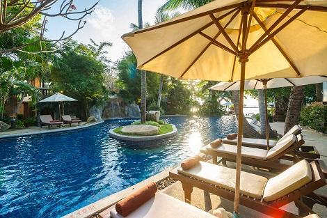 サムイ島:ムアン サムイ スパ リゾート プール