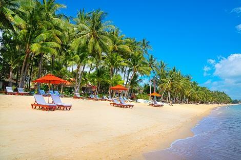 サムイ島:ビーチ