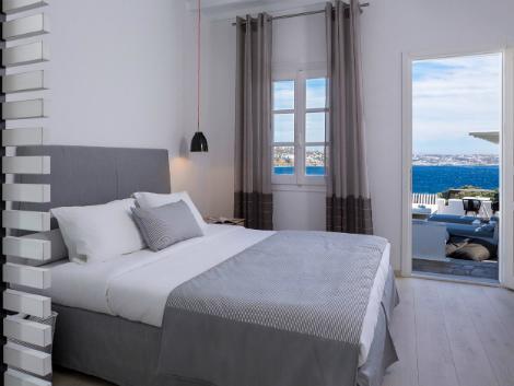 ミコノス島:ミコノス プリンセス ホテル 客室一例