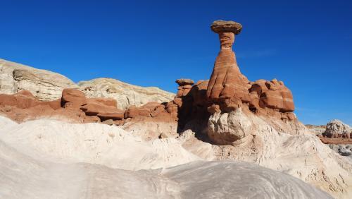 エスカランテ国定公園/マッシュルーム奇怪岩群