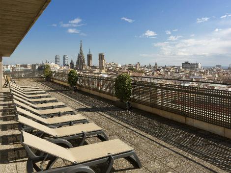 バルセロナ:シタディーン ランブラス テラス