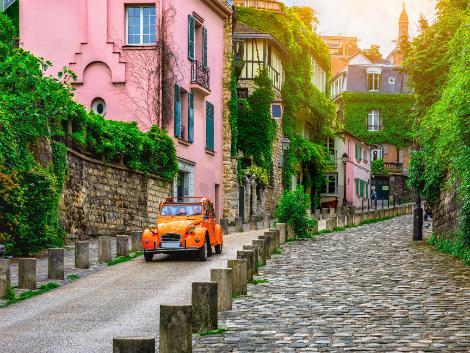 ◇パリ:石畳の路地
