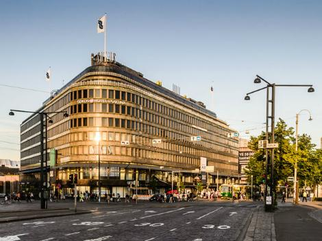 ヘルシンキ:ソコス ホテル ヴァークナ 外観