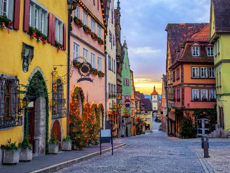 ◇ローテンブルク:クリスマスの街並み