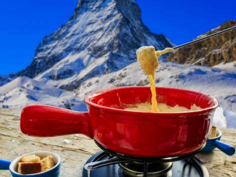 ◇スイス:チーズフォンデュ