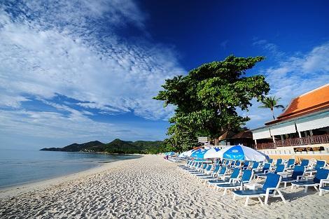 サムイ島:チャウエン コーブ リゾテル ビーチ