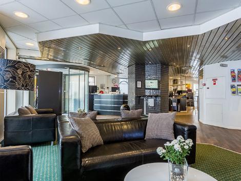 コペンハーゲン:コペンハーゲン スター ホテル ロビー
