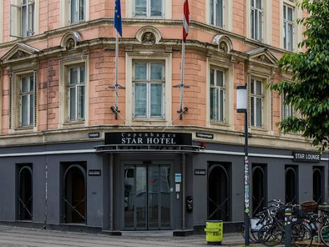 コペンハーゲン:コペンハーゲン スター ホテル 外観