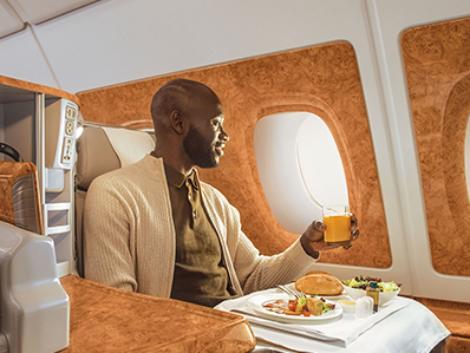 エミレーツ航空:エアバス380 ビジネスクラス