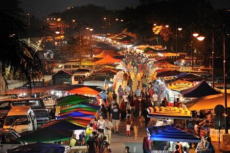 ランカウイ島:ナイトマーケット