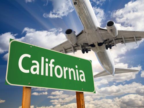 カリフォルニアの空