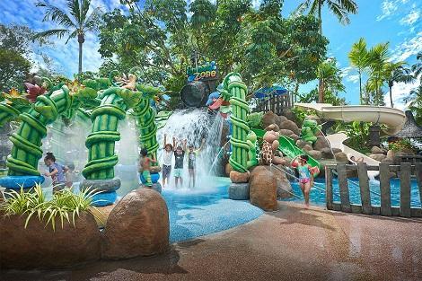 ペナン島:ゴールデン サンズ リゾート バイ シャングリラ スプラッシュゾーン