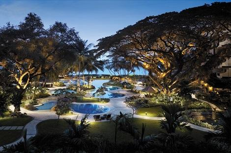 ペナン島:シャングリラズ ラサ サヤン プール