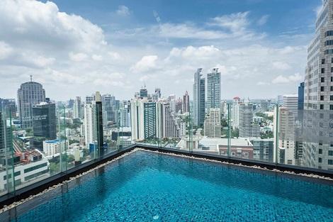 バンコク:ザ コンチネント ホテル プール