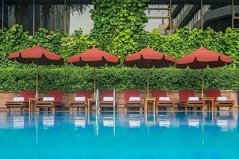 バンコク:ザ・ランドマーク バンコク プール