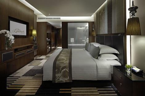 バンコク:ザ・ランドマーク バンコク 客室一例