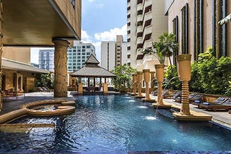 バンコク:グランド スクンビット ホテル バンコク プール