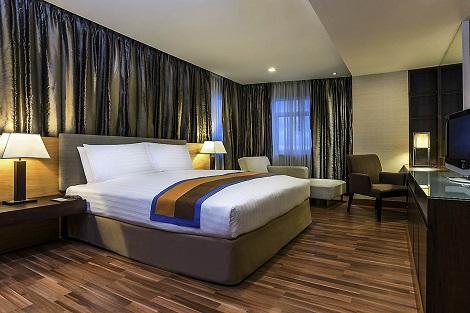 バンコク:グランド スクンビット ホテル バンコク 客室一例