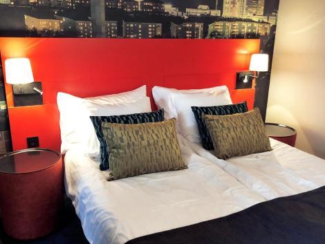 ストックホルム:クオリティ ホテル ナッカ 客室一例