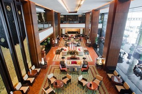 バンコク:JWマリオット ホテル バンコク ロビー