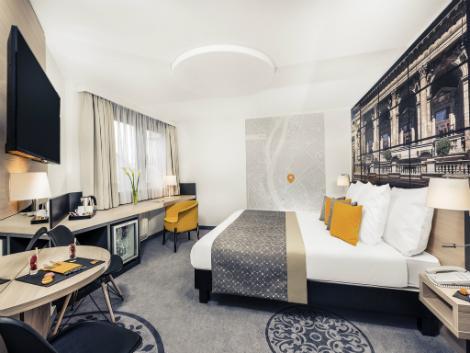 ブダペスト:メルキュール ブダペスト シティ センター 客室一例