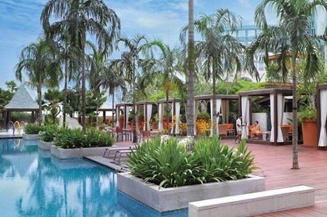セントーサ島:フェスティブ ホテル プール