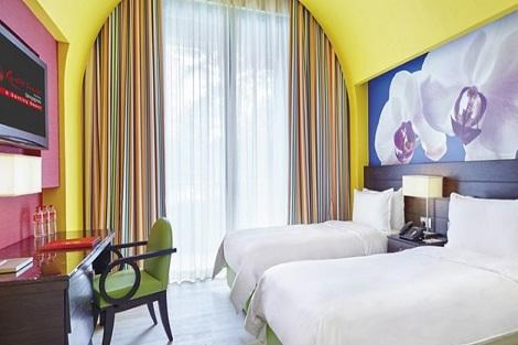 セントーサ島:フェスティブ ホテル 客室一例