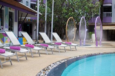メルキュール ホテル パタヤ プール