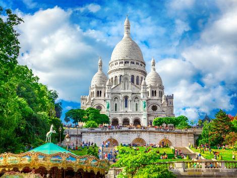 ◇パリ:サクレ・クール寺院