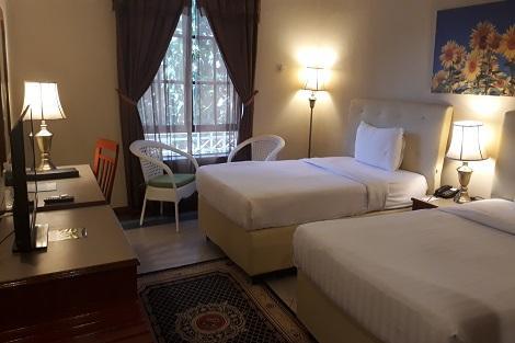 ランカウイ:アセアニア リゾート 客室一例