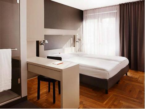 ベルリン:ホテル アマノ 客室一例