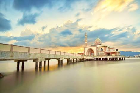 ペナン 水上モスク
