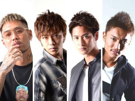 メンズ雑誌「BITTER」モデルARATA、RYUJI、KOTARO、TAKAが参戦