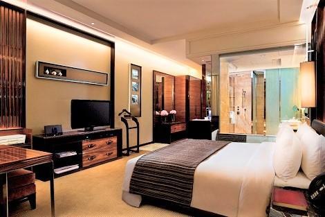 シンガポール:ザ フラートン ベイ ホテル デラックスルーム 客室一例