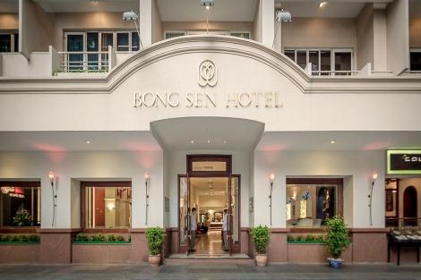 ホーチミン:ボンセン ホテル 外観イメージ