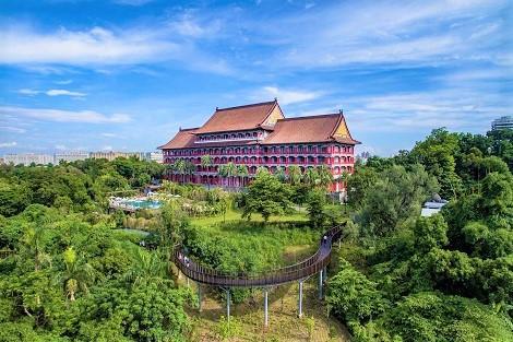 台北:ザ グランド ホテル 外観